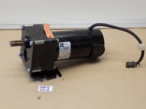 used Pulloff Bodine Gear Motor 33a5bepm w3 130v 1 8hp 29 7 1 Ratio 84 Rpm