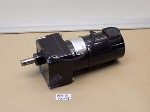 used Pulloff Bodine Gear Motor 32a5bepm w3 130v 1 8hp 29 7 1 Ratio 84 Rpm