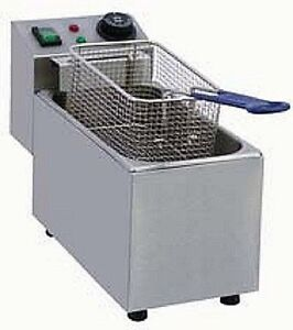 Pantin Commercial 8l Single Well Electric Countertop Deep Fryer 240v 2500w