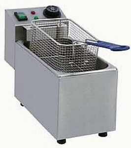 Pantin Commercial 9l Single Well Electric Countertop Deep Fryer 240v 2500w