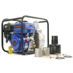 New 3 Portable 6 5 Hp Gas Power Water Trash Pump Epa Transfer 4 stroke 264gpm