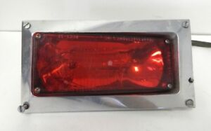 Tomar Electronics Rect 37s Strobe Red W Mount Plate