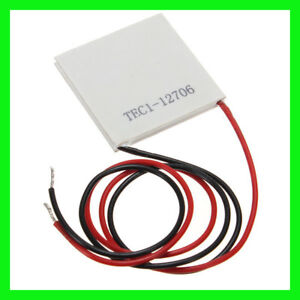 Tec1 12706 40x40mm Thermoelectric Cooler Peltier Plate Module 12v 60w