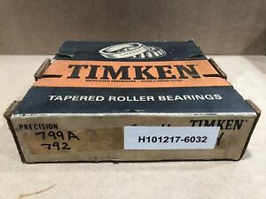 Timken 799a 792 Tapered Roller Bearing