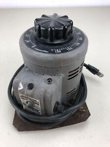 Adjust a volt Variable Transformer Output 0 135 Vac 7 5 Amp Max Kva 1 0