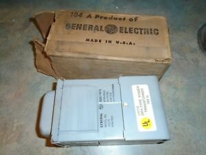 General Electric Dry Type Transformer Model 9t51y5810 208 230 Volts 769g