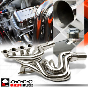 Ss Exhaust Header Manifold For Big Block Chevy 496 Mag Bbc V8 V Drive Jet Boat