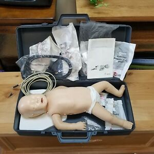 As Is Laerdal Resusci Cpr Baby infant Pediatric Manikin Heartcode Bls 453 35001