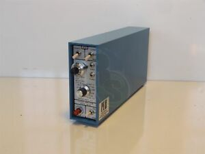 Pcb Piezotronics Model 463a Charge Amplifier Module 180khz Lp Filter