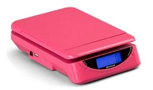 Brecknell Digital Electronic Usb Postal Shipping Scale Model Ps25 Pink