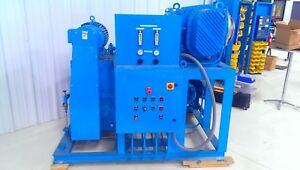Kinney tuthill Booster rotary Piston Vacuum Pumping System