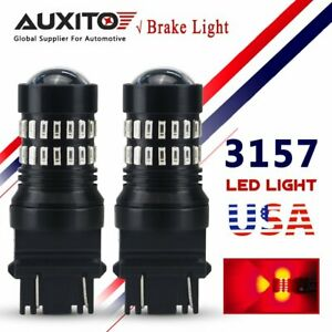Auxito High Power 3156 3157 Led Break Tail Light Stop Singal Bulb Red Light