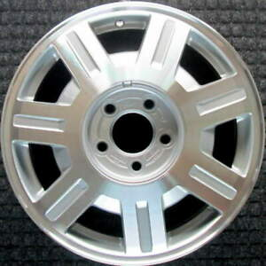Cadillac Deville Machined 16 Inch Oem Wheel 2003 2005 09594391 09594261