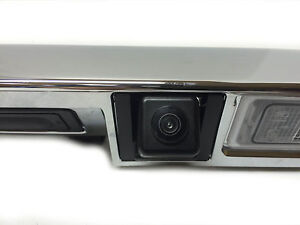 Chevrolet Sonic Hatchback Rear Back Up Camera Applique Trim Chrome New Oe