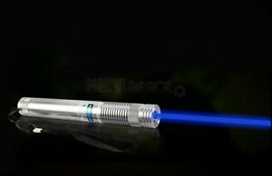 2watt B808 a Military 450nmadjustable Focus Blue Laser Pointer Pen Visible Beam