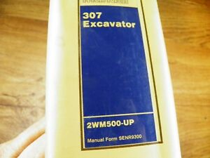 Cat Caterpillar 307 Excavator Service Manual 2wm500 up