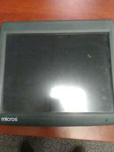 Micros Ws5 Pos Touchscreen Workstation 9700 3700 E7 Restaurant System