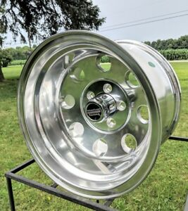 15x10 American Racing Baja Polished Wheel Chevy Gmc 2 Wd Truck 5on5 W Lugs