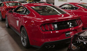 2015 2021 Mustang Coupe Fastback Roush 421890 Rear Spoiler Wing Ruby Red Rr
