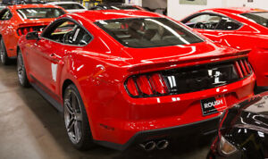 2015 2021 Mustang Coupe Fastback Roush 421889 Rear Spoiler Wing Race Red Pq