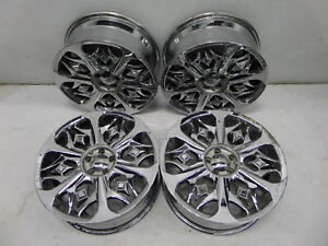 Lexani Boss 18 Chrome M019 Wheels 5 X 100 Vw Mk4 Golf Gti Jetta Beetle 1 Bent
