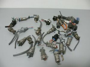 Lot Of Various Quick Release Electrical Plug Connectors Itt Amphenol More