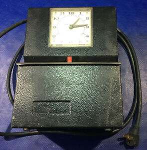 Lathem Employee Automatic Recorder Time Clock Punch Stamp Work 3021 2100
