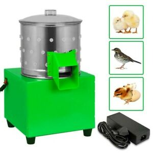Small Chicken Dove Feather Plucking Machine Poultry Plucker Birds Depilator New