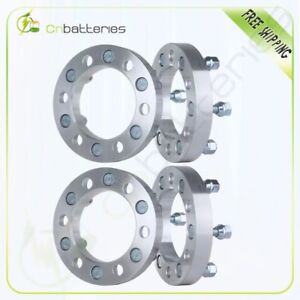 4x 6x5 5 Wheel Spacers 1 25mm Thick 12x1 25 For 1998 2004 For Nissan Frontier