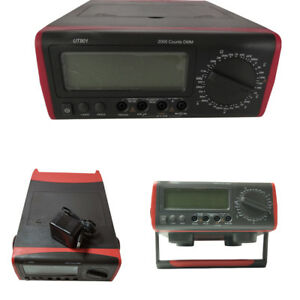 Bench Type Digital Multimeter Thermometer Lcd Display