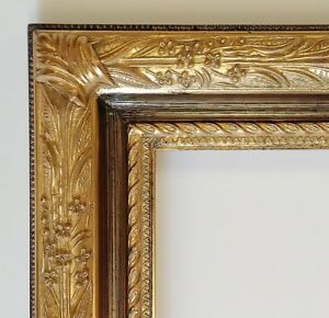 Picture Frame 18x24 Vintage Shabby Chic Antique Style Baroque Gold Ornate 6482