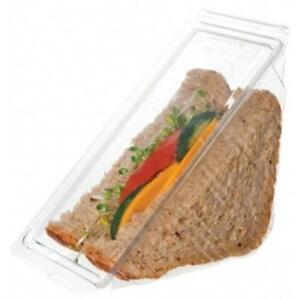 Eco products Ep swh3 3 In Compostable Sandwich Wedge Container