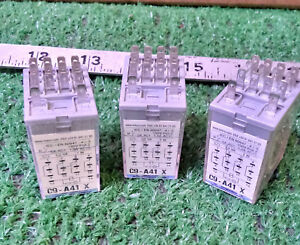 3 New Releco C9 a41 X Ice Cube Relay make Offer