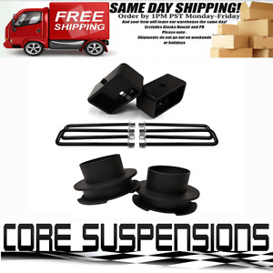 3 Front And 3 Rear Leveling Lift Kit For 1999 2007 Chevy Silverado 1500 2wd