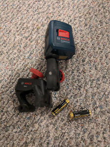 Used Bosch Gll 2self leveling Cross line Laser In Excellent Condition