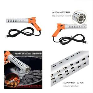 Growneer Electric Fire Starter Charcoal Starter And Lighter Bbq Smoker Grill