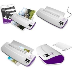 Hot And Cold 9 Laminator Laminating Machine W 100 Hot Pockets For Office