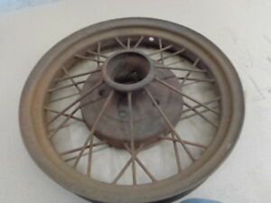 Model A Ford 1930 1931 19 Wire Wheel Mt 1729