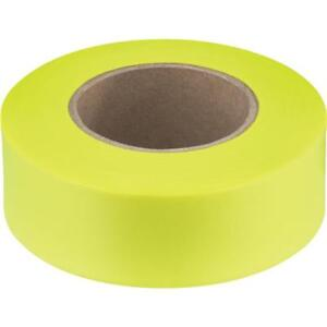 12 Pk Empire 200 L X 1 W Best High quality Performance Yellow Flagging Tape