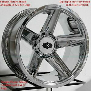 4 New 20 Wheels Rims For Chevrolet Silverado 1500 K 1500 C 2500 K 2500 6864