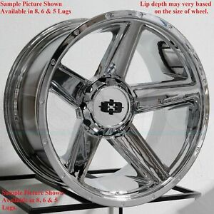 4 New 20 Wheels Rims For Chevrolet Suburban 1500 Tahoe Chevy 6864