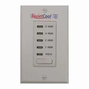 Quietcool Timer Control Kit For Single Speed Whole House Fan Models It kit 1