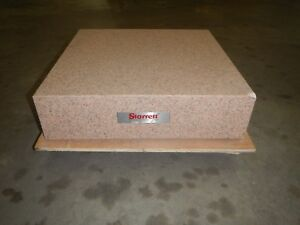 Starrett 24 X 24 X 6 Granite Surface Plate Grade A light Damage