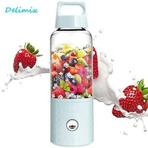 Portable Smoothie Blender Juicer Usb Rechargeable Fruits Mixing Machine 4000mah