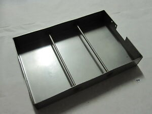 Stainless Steel Small Tool Drawer Storage Container Holder 18 X 12 X 2 3 4 Od