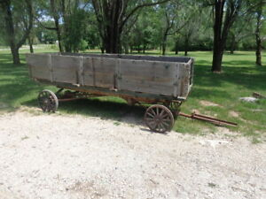 Model T Ford Chassis Turned Into A Farm Wagon Mt 2113