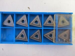 Lot Of 9 Valenite Tnmg 544 Vc2 Indexable Carbide Inserts New