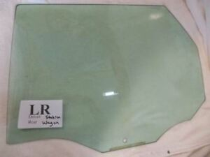 Ford Focus Station Wagon Driver Side Left Rear Back Door Glass 00 07