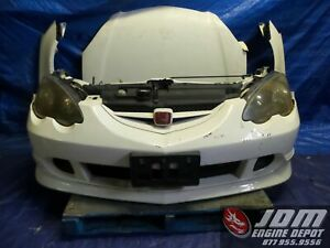 02 04 Honda Integra Acura Rsx Type R Dc5 White Front End Conversion Jdm K20a 4
