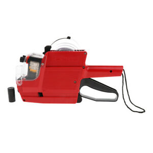 Mx 6600 10 Digits 2 Lines Price Tag Gun Labeler 6 Kinds Of Currency Red